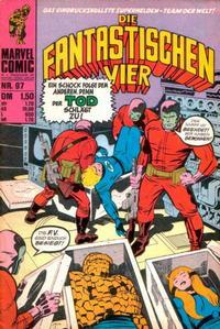 Cover Thumbnail for Die Fantastischen Vier (BSV - Williams, 1974 series) #97