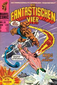 Cover Thumbnail for Die Fantastischen Vier (BSV - Williams, 1974 series) #99
