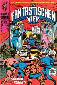Cover Thumbnail for Die Fantastischen Vier (BSV - Williams, 1974 series) #100