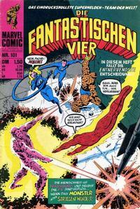 Cover Thumbnail for Die Fantastischen Vier (BSV - Williams, 1974 series) #101
