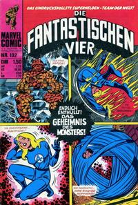 Cover Thumbnail for Die Fantastischen Vier (BSV - Williams, 1974 series) #102