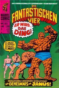 Cover Thumbnail for Die Fantastischen Vier (BSV - Williams, 1974 series) #103