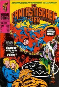 Cover Thumbnail for Die Fantastischen Vier (BSV - Williams, 1974 series) #106