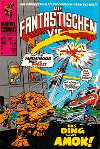 Cover Thumbnail for Die Fantastischen Vier (BSV - Williams, 1974 series) #107