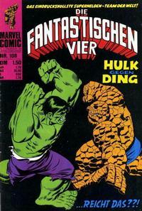 Cover Thumbnail for Die Fantastischen Vier (BSV - Williams, 1974 series) #108