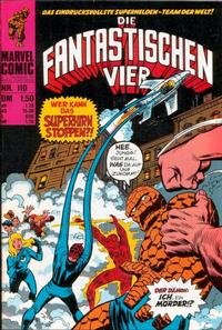 Cover Thumbnail for Die Fantastischen Vier (BSV - Williams, 1974 series) #110