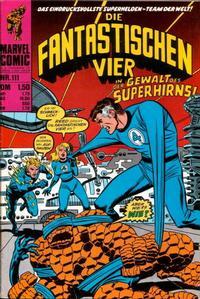 Cover Thumbnail for Die Fantastischen Vier (BSV - Williams, 1974 series) #111