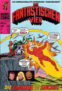 Cover Thumbnail for Die Fantastischen Vier (BSV - Williams, 1974 series) #114