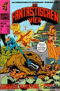 Cover Thumbnail for Die Fantastischen Vier (BSV - Williams, 1974 series) #115