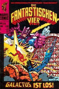 Cover Thumbnail for Die Fantastischen Vier (BSV - Williams, 1974 series) #119
