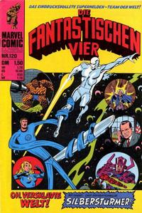 Cover Thumbnail for Die Fantastischen Vier (BSV - Williams, 1974 series) #120