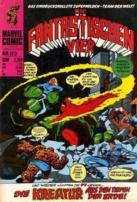 Cover Thumbnail for Die Fantastischen Vier (BSV - Williams, 1974 series) #123