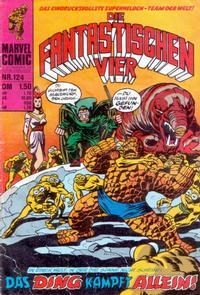 Cover Thumbnail for Die Fantastischen Vier (BSV - Williams, 1974 series) #124