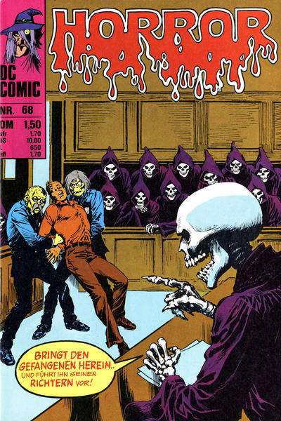 Cover for Horror (BSV - Williams, 1972 series) #68