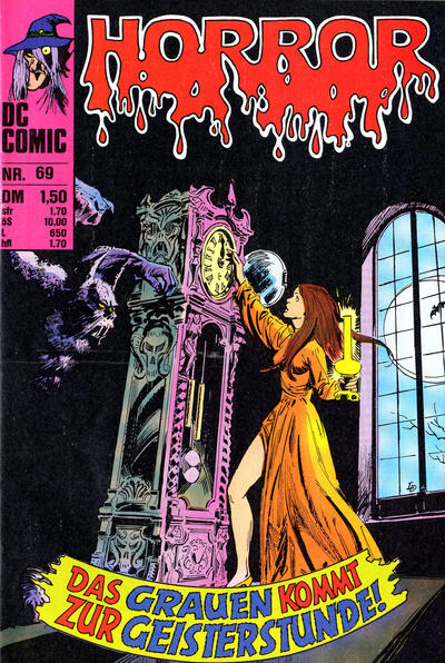 Cover for Horror (BSV - Williams, 1972 series) #69