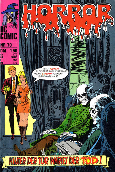 Cover for Horror (BSV - Williams, 1972 series) #70