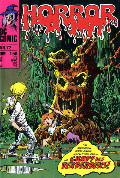 Cover for Horror (BSV - Williams, 1972 series) #72
