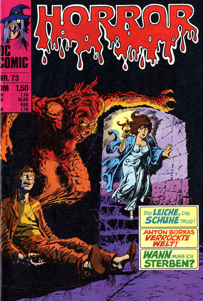 Cover for Horror (BSV - Williams, 1972 series) #73
