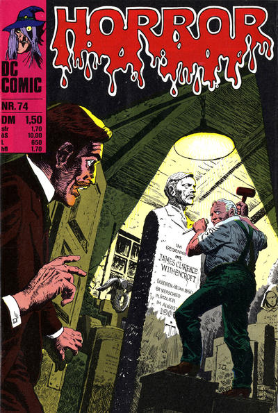 Cover for Horror (BSV - Williams, 1972 series) #74