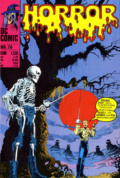 Cover for Horror (BSV - Williams, 1972 series) #76