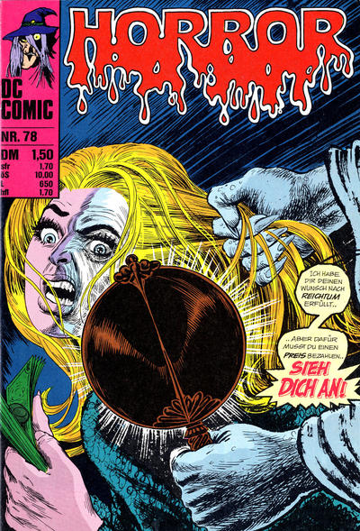 Cover for Horror (BSV - Williams, 1972 series) #78