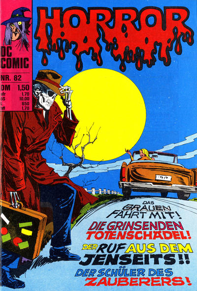 Cover for Horror (BSV - Williams, 1972 series) #82