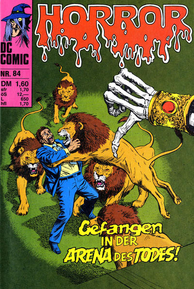 Cover for Horror (BSV - Williams, 1972 series) #84
