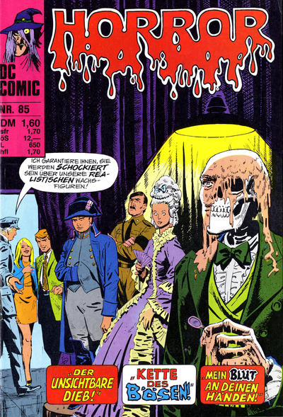 Cover for Horror (BSV - Williams, 1972 series) #85