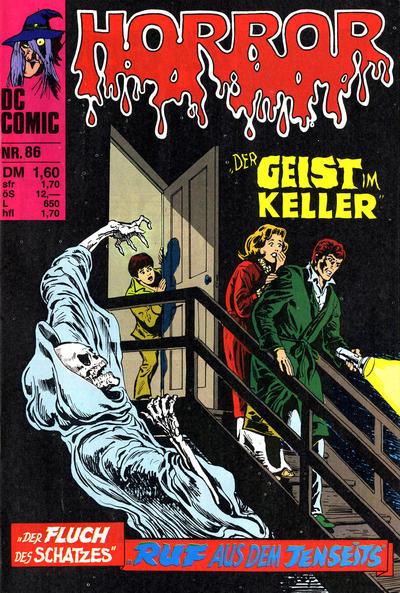Cover for Horror (BSV - Williams, 1972 series) #86
