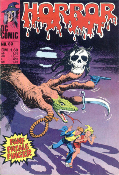 Cover for Horror (BSV - Williams, 1972 series) #89