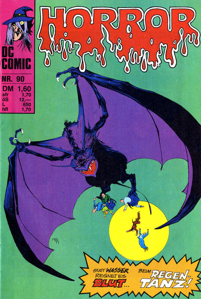 Cover for Horror (BSV - Williams, 1972 series) #90