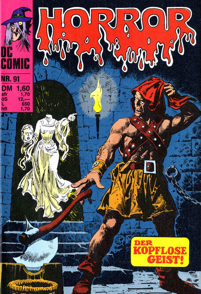 Cover for Horror (BSV - Williams, 1972 series) #91