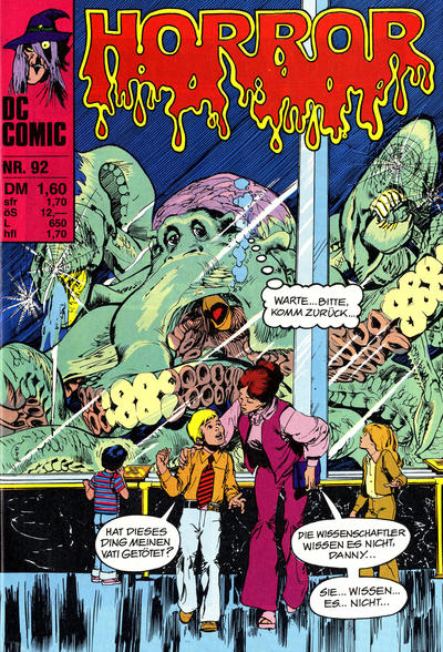 Cover for Horror (BSV - Williams, 1972 series) #92