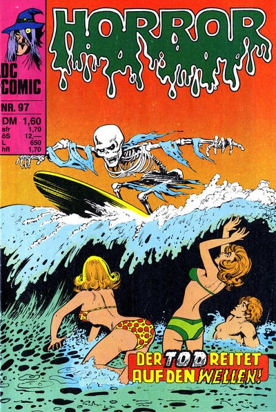 Cover for Horror (BSV - Williams, 1972 series) #97