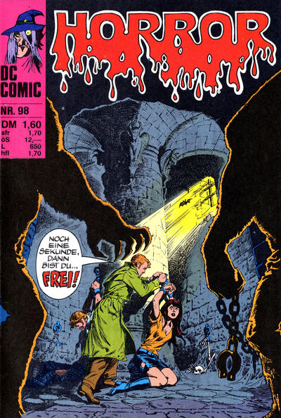 Cover for Horror (BSV - Williams, 1972 series) #98