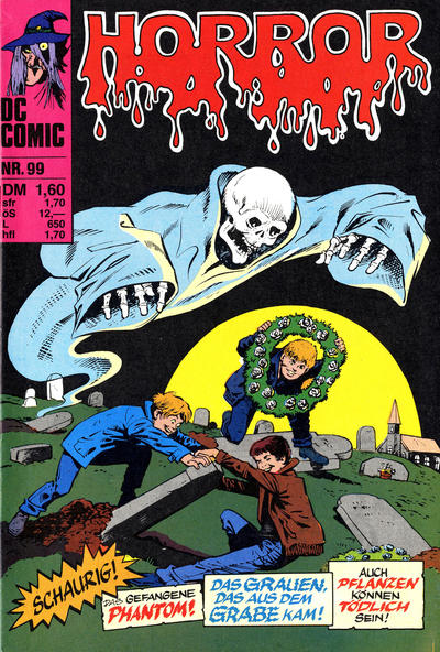 Cover for Horror (BSV - Williams, 1972 series) #99