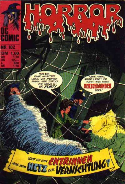 Cover for Horror (BSV - Williams, 1972 series) #102