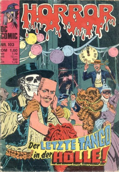 Cover for Horror (BSV - Williams, 1972 series) #103