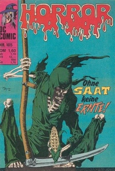 Cover for Horror (BSV - Williams, 1972 series) #105