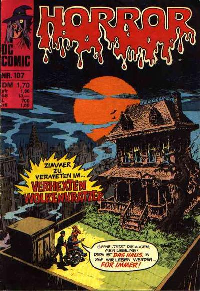 Cover for Horror (BSV - Williams, 1972 series) #107