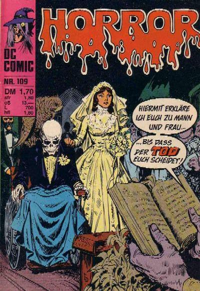 Cover for Horror (BSV - Williams, 1972 series) #109