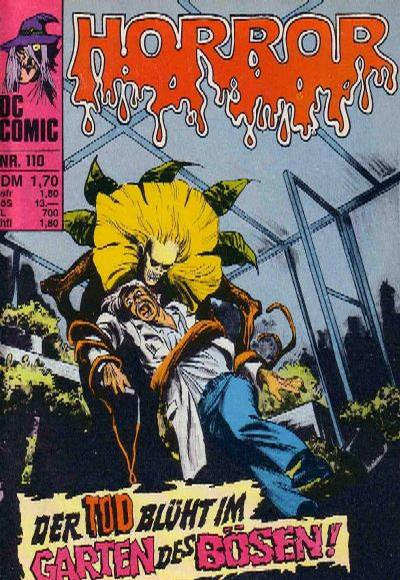 Cover for Horror (BSV - Williams, 1972 series) #110