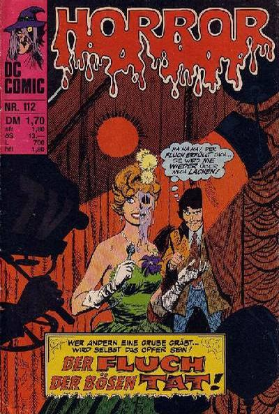 Cover for Horror (BSV - Williams, 1972 series) #112