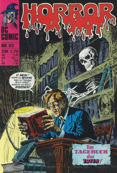Cover for Horror (BSV - Williams, 1972 series) #113