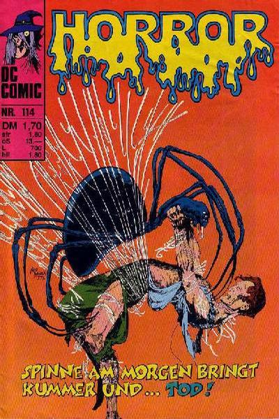 Cover for Horror (BSV - Williams, 1972 series) #114