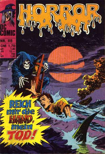 Cover for Horror (BSV - Williams, 1972 series) #115