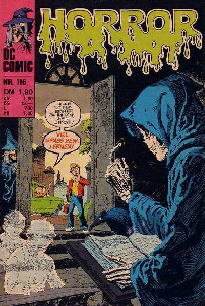 Cover for Horror (BSV - Williams, 1972 series) #116