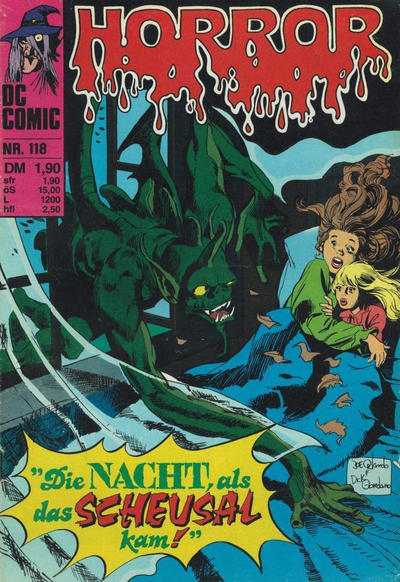 Cover for Horror (BSV - Williams, 1972 series) #118