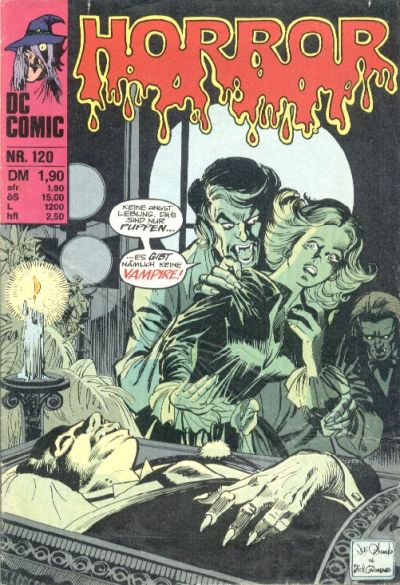 Cover for Horror (BSV - Williams, 1972 series) #120
