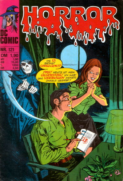 Cover for Horror (BSV - Williams, 1972 series) #121